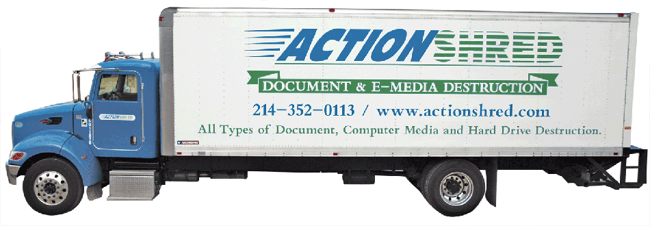 Action Shred Offsite Truck