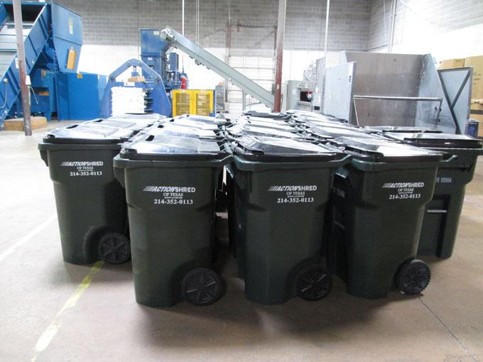 Action Shred shredding facility in Dallas