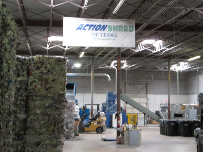 Action Shred secure shredding facilities